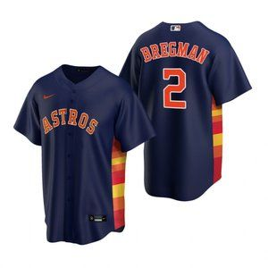 Youth Houston Astros Alex Bregman Jersey